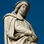 Statue of Walther von der Vogelweide, Bolzano
