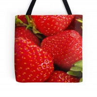 Strawberries! Tote